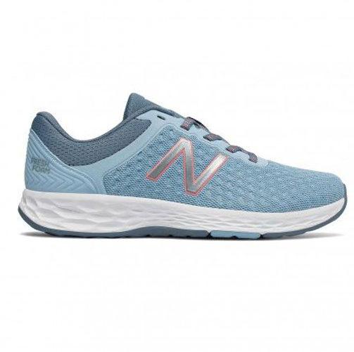 New Balance 女鞋 慢跑 輕量 透氣 網布 耐磨 緩震 藍 【運動世界】WKAYMLT1