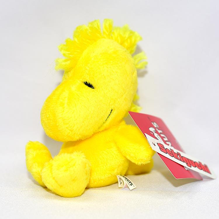 SNOOPY 史努比 黃色小鳥 坐姿 日本限定正版 woodstock