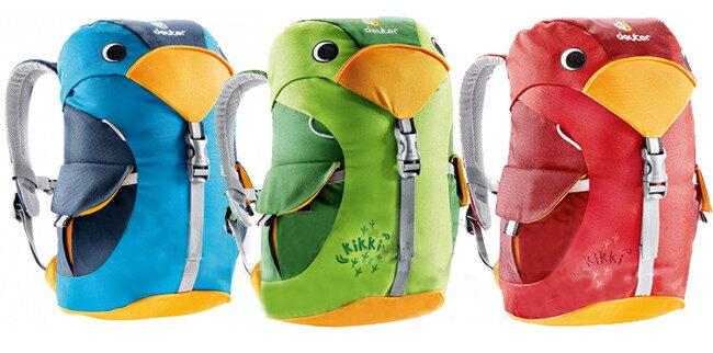 【露營趣】中和 送鋁合金哨子 德國 deuter kikki 兒童背包 休閒背包 幼稚園適用 36093