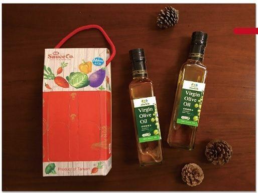 展康 味榮 初榨橄欖油 紅色禮盒