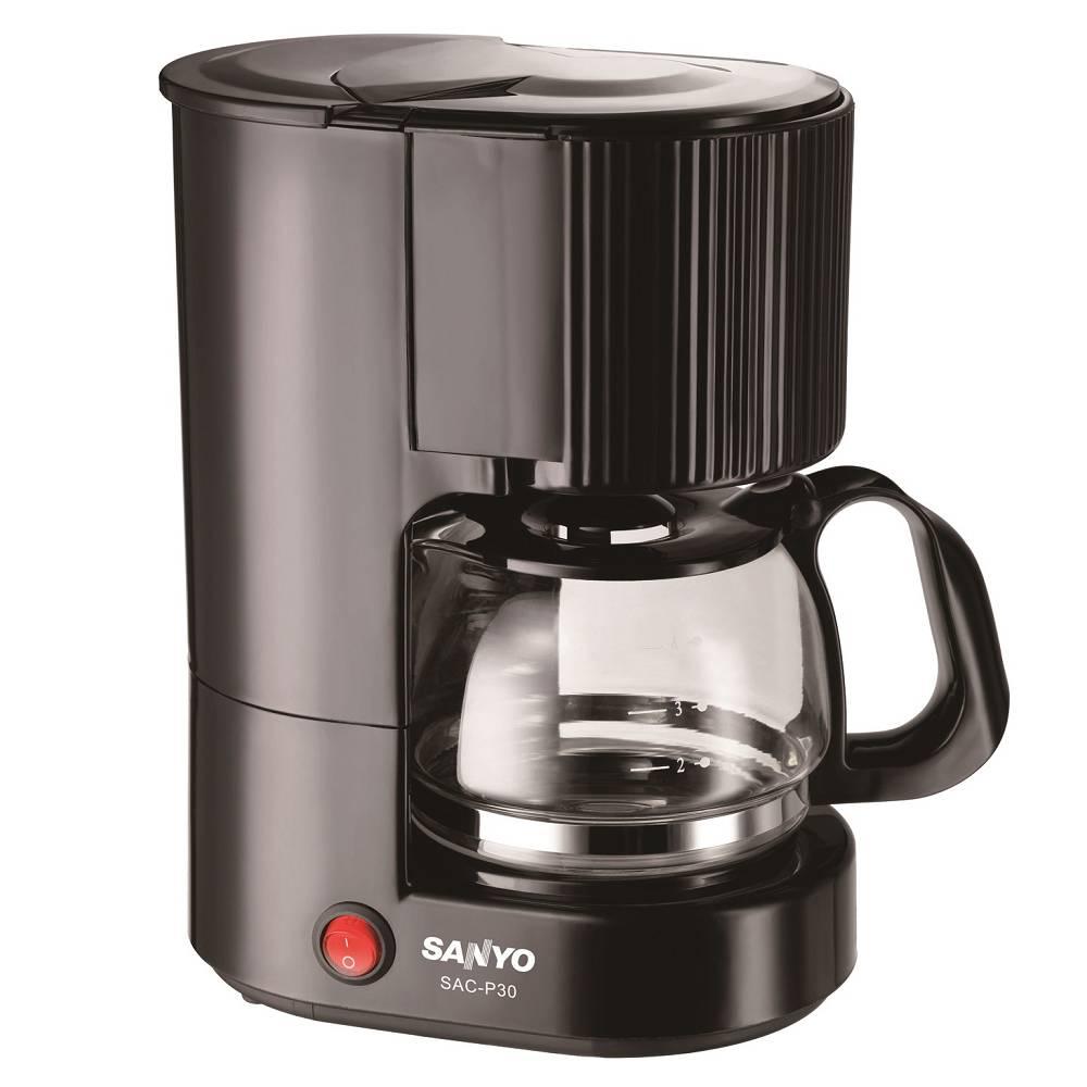 【台灣三洋SANYO】4人份咖啡機 / SAC-P30 - 限時優惠好康折扣