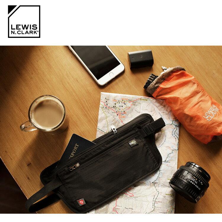 Lewis N. Clark RFID屏蔽腰包 1268  /  城市綠洲 (防盜錄、貼身腰包、旅遊配件、美國品牌) 0