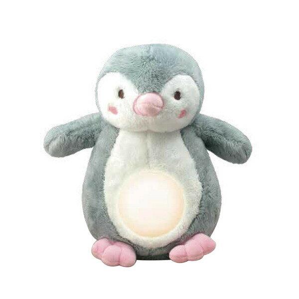 小牛津 安撫企鵝寶貝-絨毛音樂夜燈玩偶【悅兒園婦幼生活館】【618購物節】