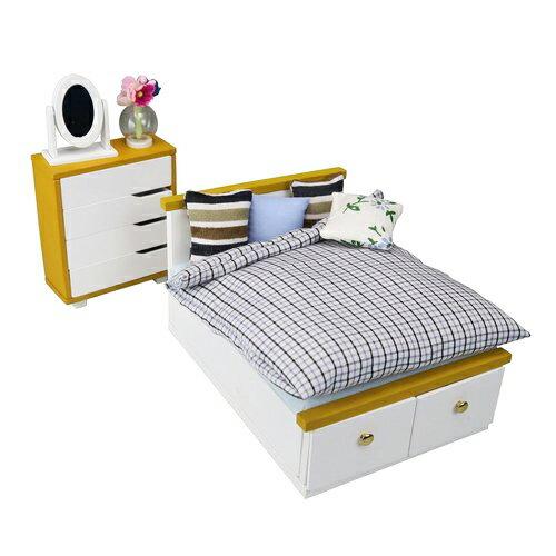 《NanoRoom迷你家具》NRB-002床&床頭櫃組