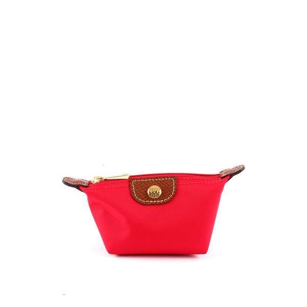 【LONGCHAMP】小零錢包(野莓色)3693089270