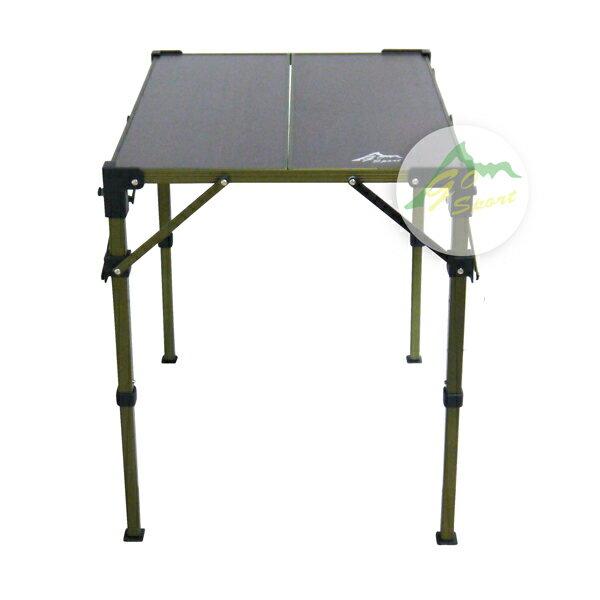【露營趣】中和 GO SPORT 96022 兩片複合板折疊桌 摺疊桌 休閒桌 蛋捲桌 LOGOS LG73186506