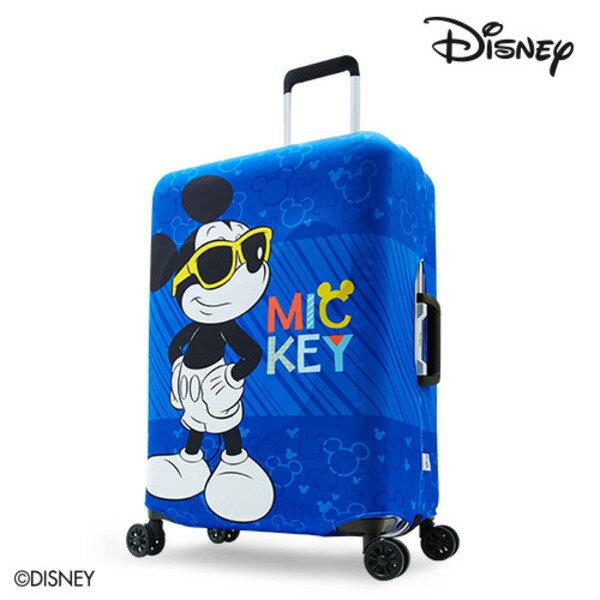 【加賀皮件】DESENO DISNEY 迪士尼 米奇MICKEY 彈性箱套 行李箱套 行李保護套 M號 微笑米奇 B1129-0005