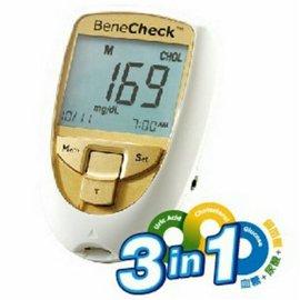 百捷益三合一多功能測試儀(血糖.尿酸.膽固醇)-未開放網購(來電再優惠02-27134988)