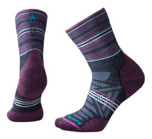 【【蘋果戶外】】Smartwool SW000766 092 Phd 戶外輕量避震印花中筒襪【女襪】美國製造 美麗諾羊毛襪 排汗襪 保暖 吸濕 抗臭