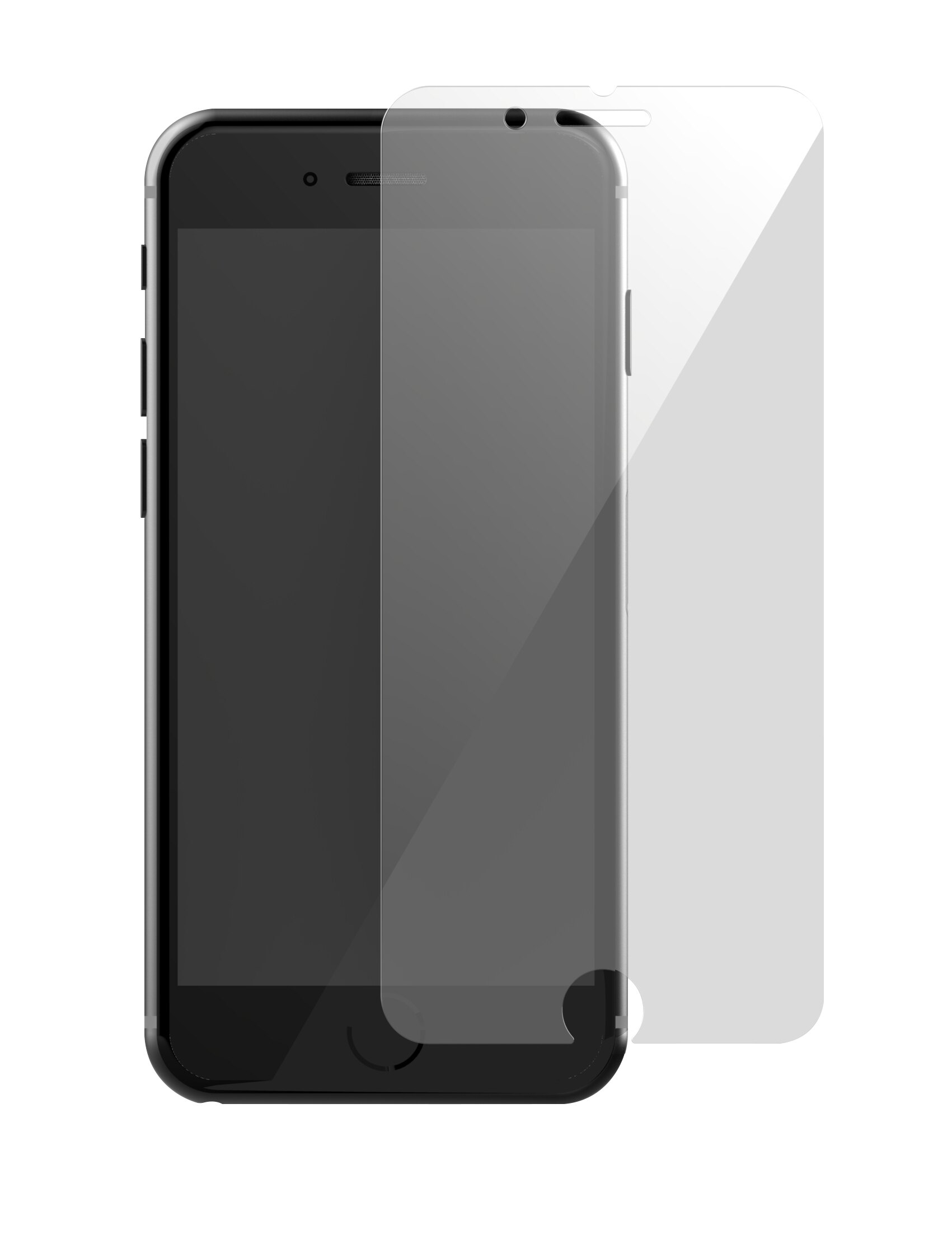 TEAMGROUP十銓科技 iPhone7日本ASAHI旭硝子玻璃保護貼(Japan Asahi AGC Glass) 2.5D/9H (等同於康寧玻璃等級) 4.7吋透明版