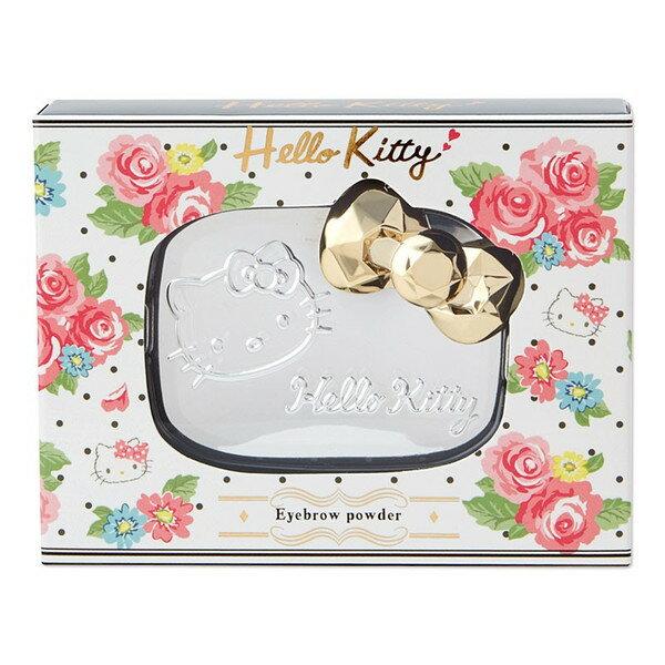 X射線【C609835】Hello Kitty 3D俏麗雙色眉粉,美妝小物/眉筆/眉粉/眉蠟/眉膏/眉膠/染眉膏