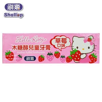 【醫護寶】刷樂 HelloKitty木糖醇兒童牙膏 三麗鷗授權
