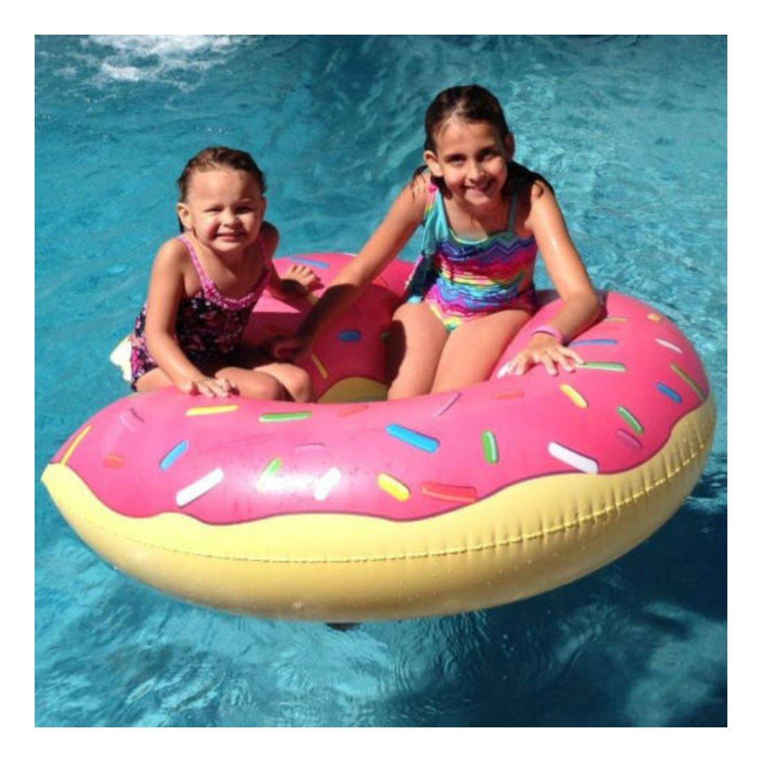 【美國BIGMOUTH】造型泳圈 草莓甜甜圈款 ((團購省運費)) 1