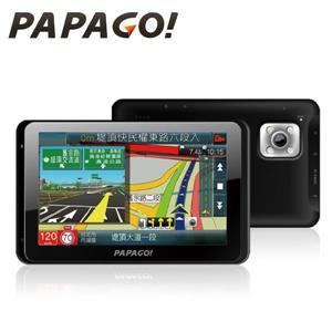 PAPAGO  WayGo 800 多機一體藍牙聲控導航+行車紀錄器 ★測速照相提醒 ★