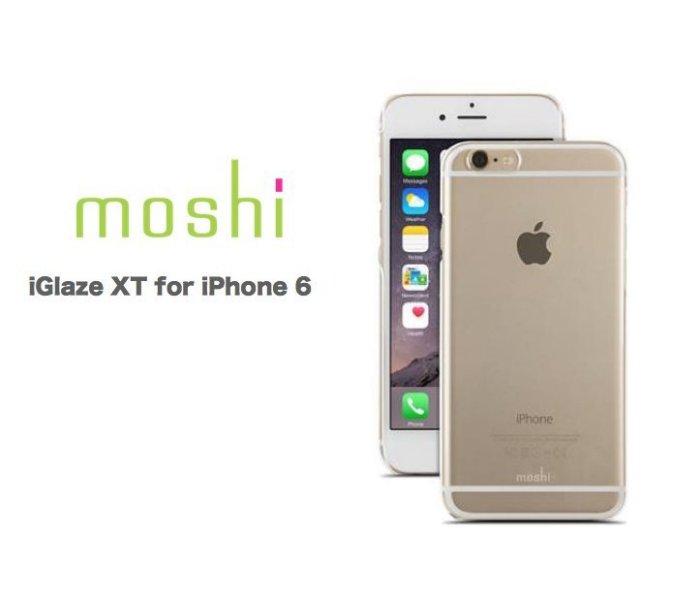moshi iGlaze XT for iPhone 6 (4.7吋) 超薄時尚保護背殼 (透明款)