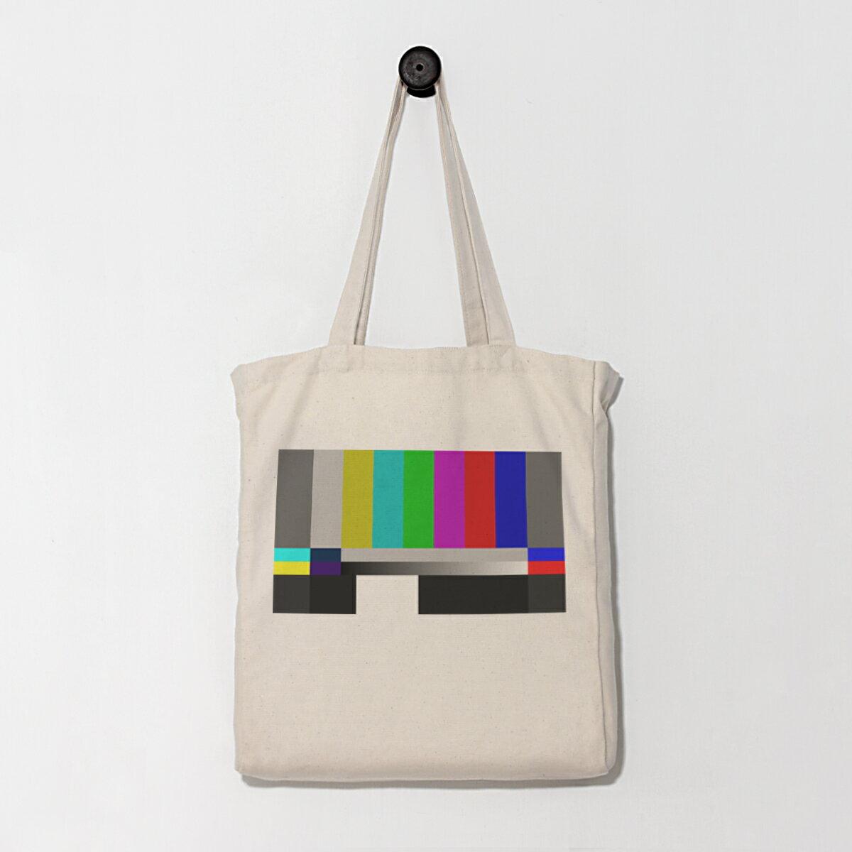 [電視彩虹] 環保袋/帆布袋/購物袋/托特包/手提/Eco包/日用袋/1day1bag
