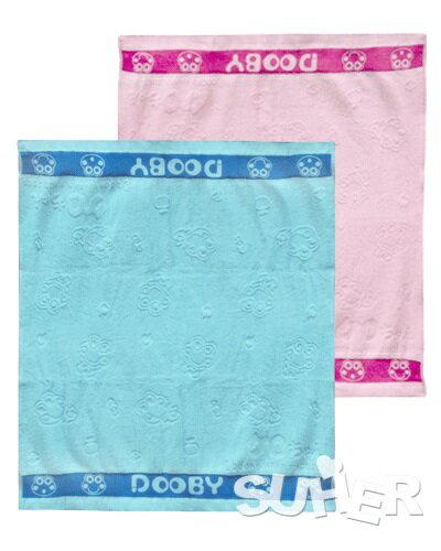 『121婦嬰用品館』大眼蛙 四方型鐵灰純棉浴巾 - 限時優惠好康折扣