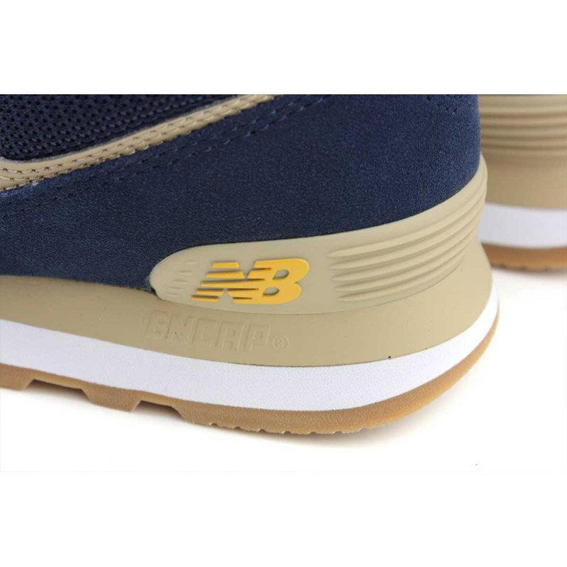 NEW BALANCE 574系列 運動鞋 復古鞋 深藍 / 黃 男鞋 ML574SPF-D no709 4