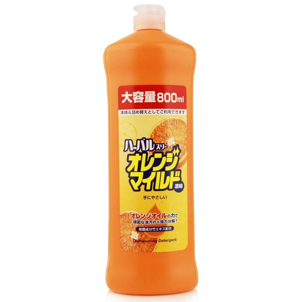 X射線【C040351】Mitsuel 日本製橘子濃縮除菌洗碗精800ml,漂白水/漂白粉/環保/洗碗精/洗衣精/酵素/環保/冷洗精