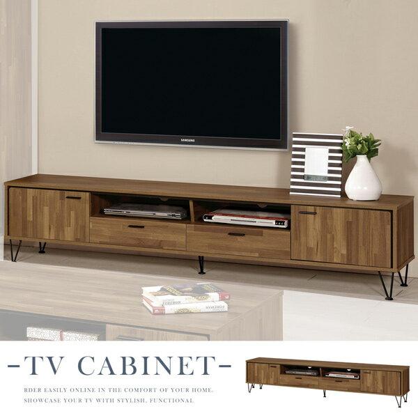 電視櫃《Yostyle》溫斯頓7尺電視櫃視聽櫃收納櫃置物櫃客廳收納