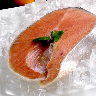 產地直送★智利鮭魚切片220g★含有豐富的鮭魚油脂,肉質豐厚~ ##E0004
