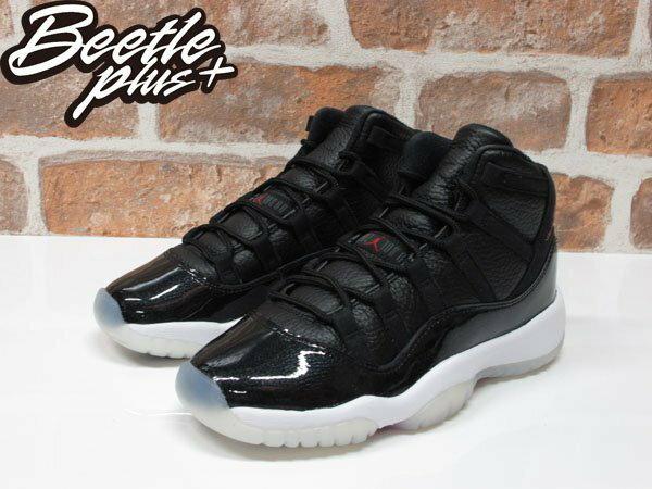 女鞋 BEETLE NIKE AIR JORDAN 11 RETRO 黑白紅 大魔王 72-10 378038-002 1
