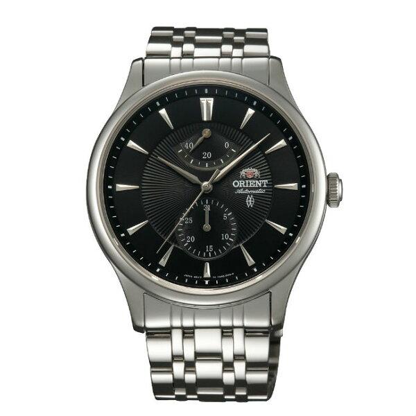 ORIENT東方錶CLASSIC系列(SFM02002B)40小時動力鋼帶款黑色42mm