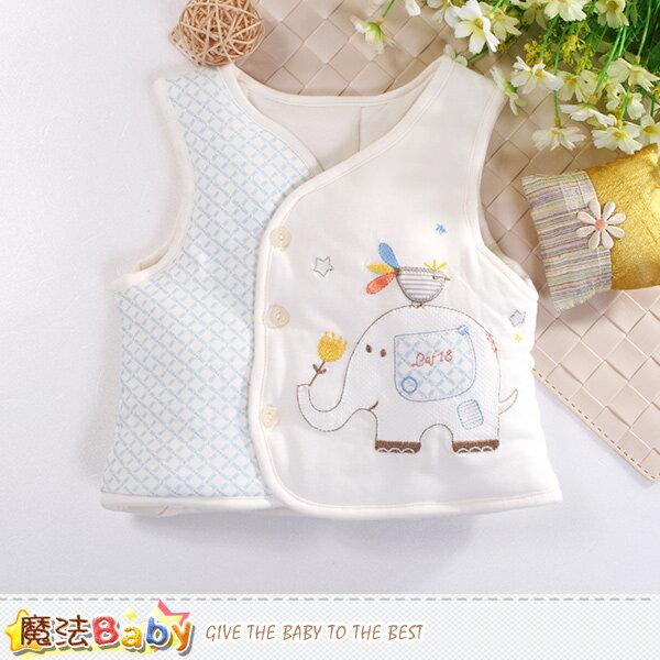 嬰幼兒背心外套 厚鋪棉絲絨保暖外套 魔法Baby~k60475