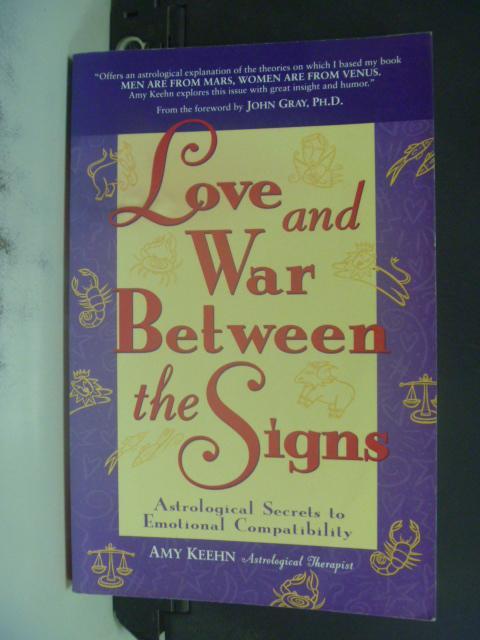 ~書寶 書T7/原文小說_LOT~Love and War Between the Sig