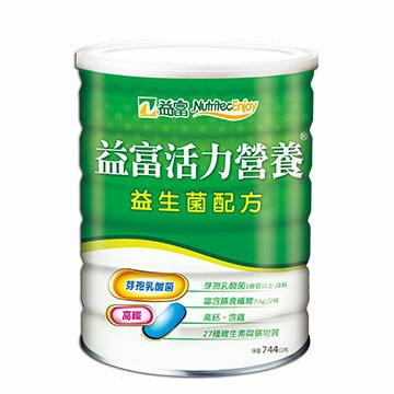 益富 活力營養 益生菌配方  744g /瓶