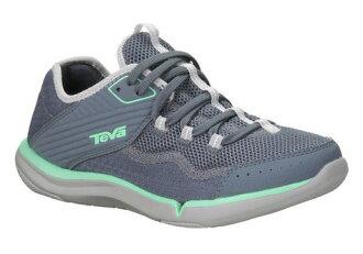 (陽光樂活)- TEVA REFUGIO 女款水陸運動鞋 暗藍灰 TV1003983SLA