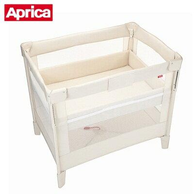 Aprica 愛普力卡 COCONEL Air 可攜式嬰兒遊戲床 (牛奶白)