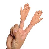 送小孩聖誕禮物到手指小手 FINGER HANDS 惡搞手中手 兩件組《SV8525》快樂生活網