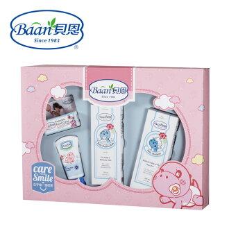 【Baan貝恩】 嬰兒歡心禮盒(4件組)