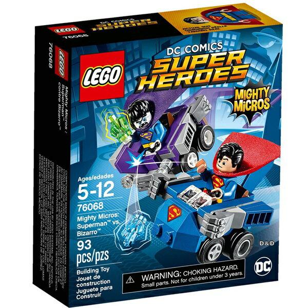 樂高積木 LEGO《 LT76068 》SUPER HEROES 超級英雄系列 - Mighty Micros: Superman™ vs. Bizarro™