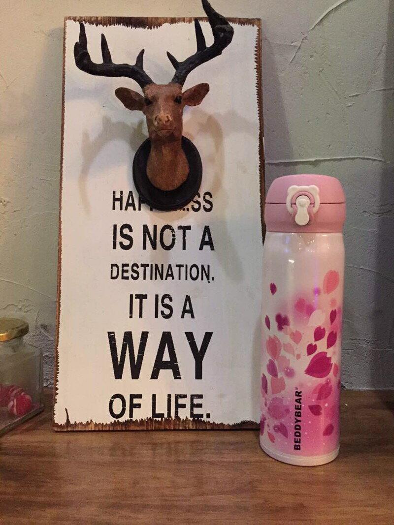 vivi shop 韓國(正品)杯具熊BeddyBear 聖誕麋鹿款、粉櫻花、黑白豹紋情侶