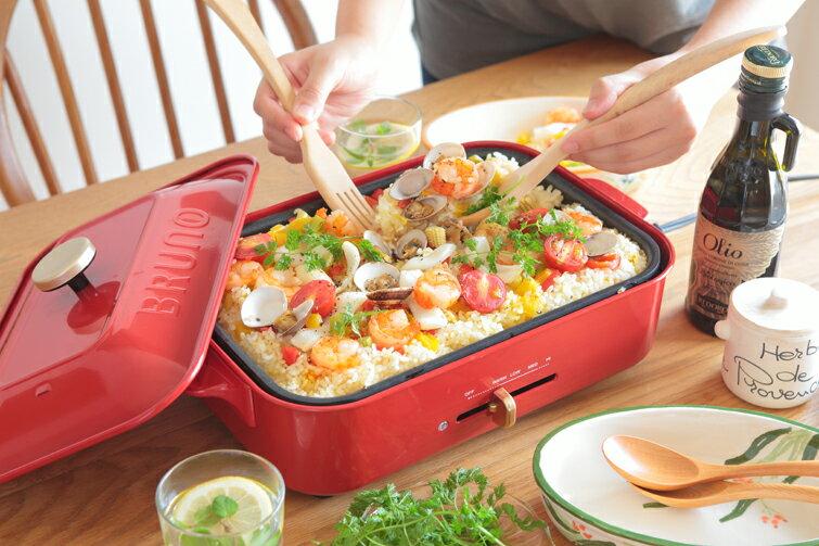 日本直送 BRUNO BOE021 多功能鑄鐵電烤盤 生鐵鍋 無煙燒烤盤 鐵板燒 章魚燒 環保