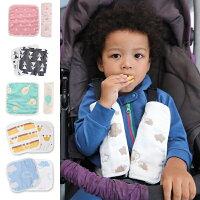 婦嬰用品-外出用品推薦6層紗布推車安全帶保護套 口水巾 嬰兒 純棉 吸濕排汗 男寶寶 女寶寶 60332(好窩生活節)。就在baby童衣婦嬰用品-外出用品推薦