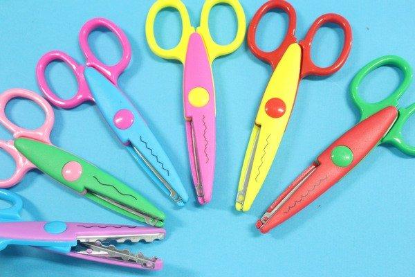 花邊剪刀 B50116 5吋花邊剪 齒剪刀 工藝剪刀/一支入{促20}