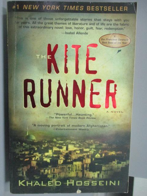 【書寶二手書T1/原文小說_JOX】KITE RUNNER_Khaled Hosseini