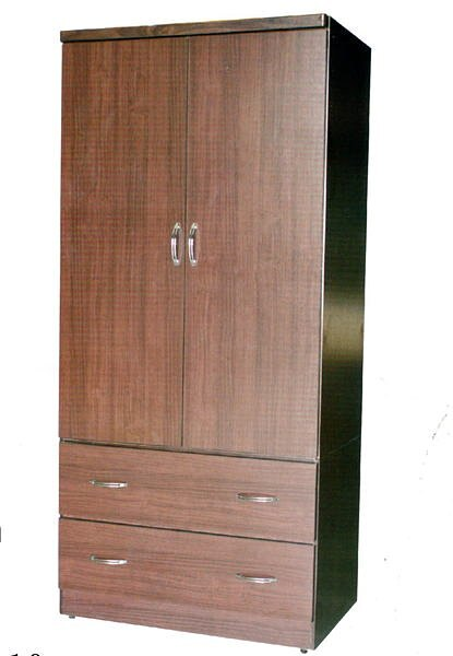 【尚品家具】※震撼價※642-03 胡桃/白橡3x6尺衣櫃~台灣製造