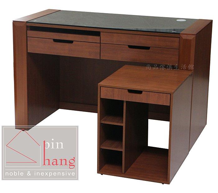 【尚品傢俱】366-02 庫雅亞 一抽主機架~另有搭配的4.2尺電腦桌/置物架/收納小櫃子