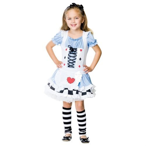Miss Wonderland Child Costume 1
