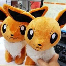 美麗大街【106081507】火狐狸 口袋妖怪 寶可夢 神奇寶貝 火狐狸毛絨玩具 娃娃