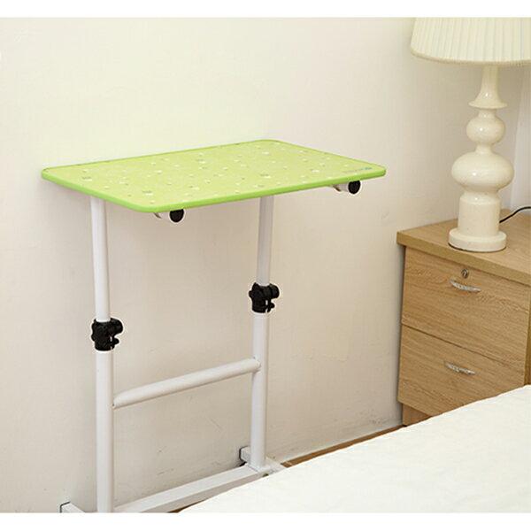 BO雜貨【YV6366】可調節升降可移動 雙桿床邊桌 筆電桌 懶人電腦桌 工作桌 兒童桌 書桌 家用懶人床上桌