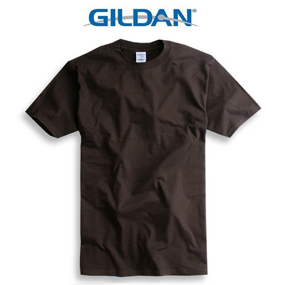 吉爾登GILDAN美國棉素T 圓領 GD美式休閒-石楠灰 6