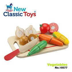 免運費《 荷蘭 New Classic Toys 》木製廚具 - 蔬食切切樂8件組