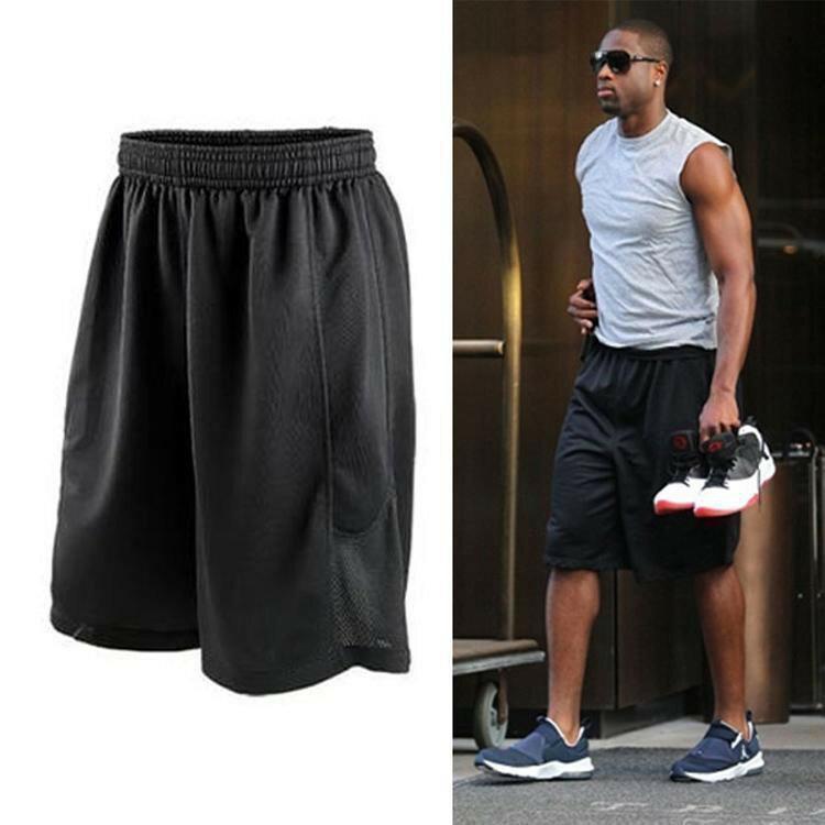 Champion 冠軍個人賣場 籃球褲投籃訓練跑步騎行運動三件套男短褲超輕速乾透氣健身五分褲