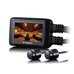 送32G記憶卡『 寶麗萊 Polaroid MS276WG 』機車前後雙鏡頭行車紀錄器/記錄器 WIFI APP 160度廣角 F1.8光圈 SONY IP67 GPS