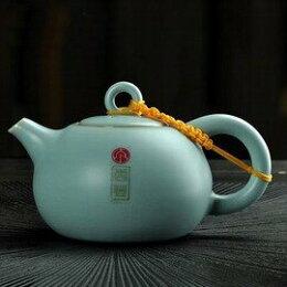 可養開片泡茶壺汝窯茶具茶壺陶瓷功夫 單壺